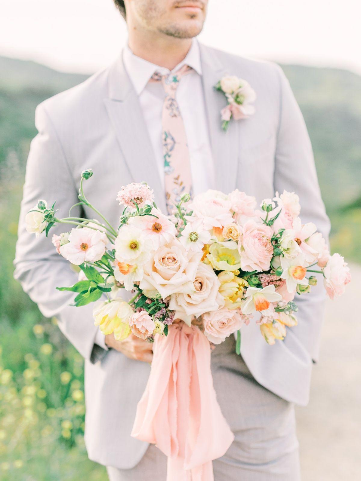 Summer Wedding Color Palette Inspiration In San Diego - Mandy Ford Summer Wedding Color Palette Ins