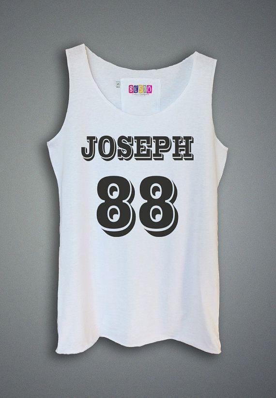 3cb378330de95 Women Tank Top - Joseph 88 Shirt Tank Top Tunic Tshirt Singlet - Womens  Tshirts - Size XS S M L - (T085)