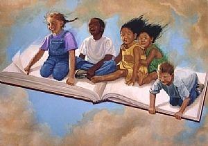 Children's Library mural