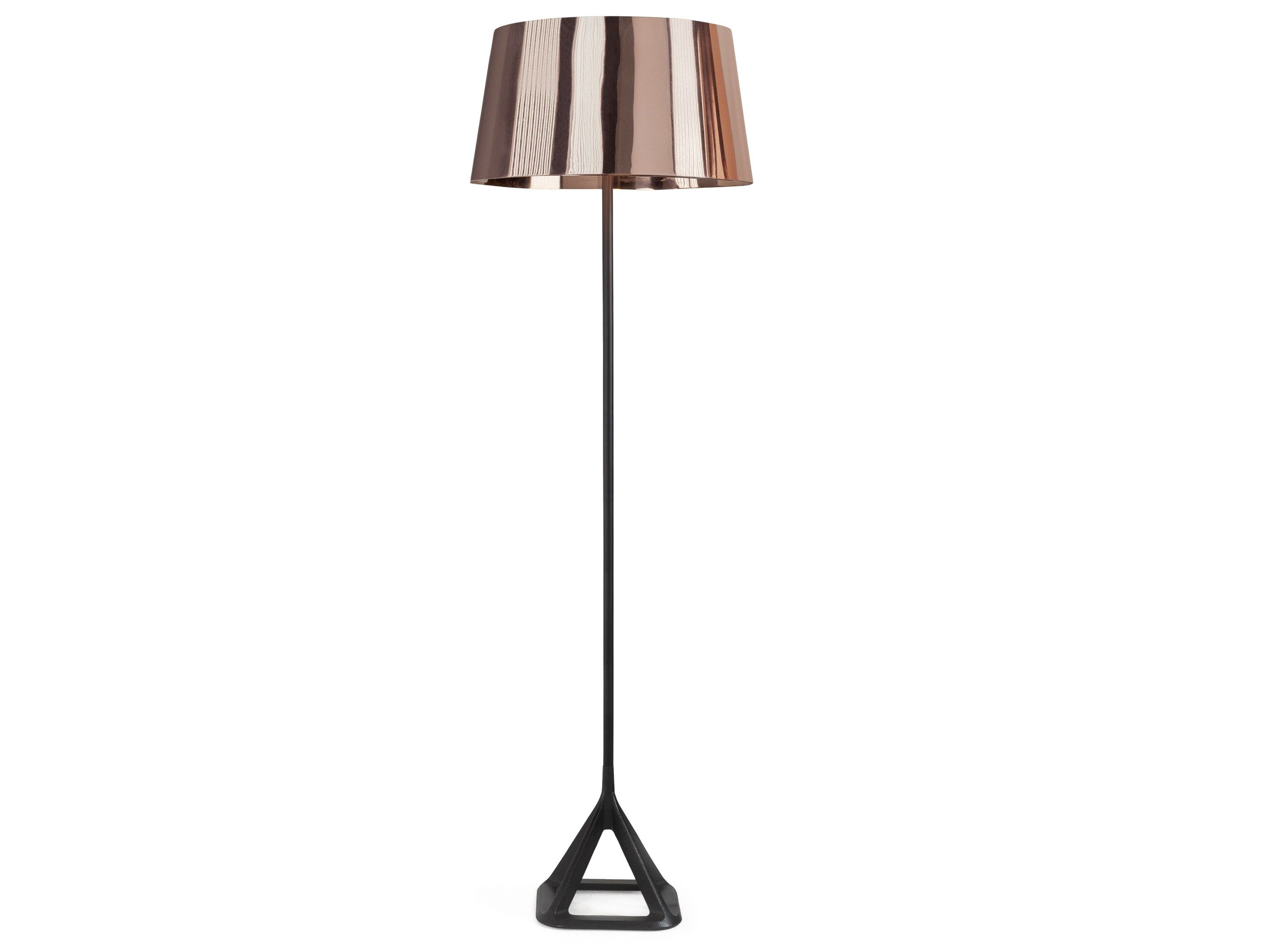 Copper Floor Lamp Base Copper Floor Light By Tom Dixon Design Tom Dixon Copper Floor Light Copper Floor Lamp Floor Lights