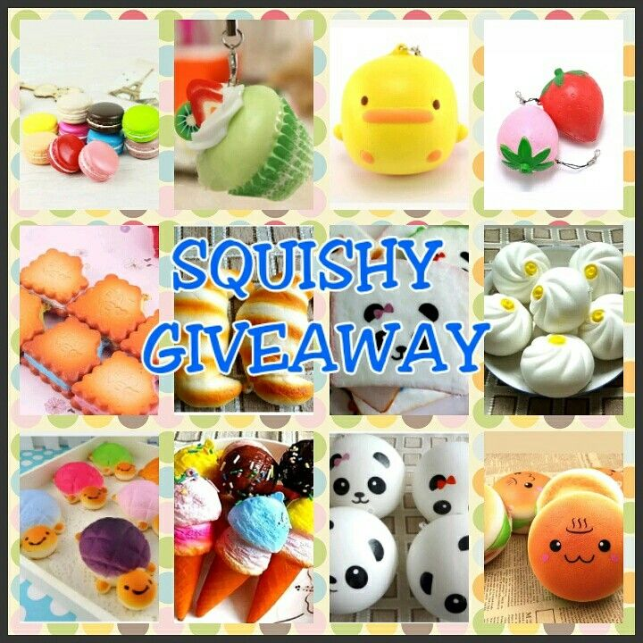 Squishy Giveaways : Free Squishy Giveaway!! We are making a video for a squishy dispenser, and giving away 100 ...
