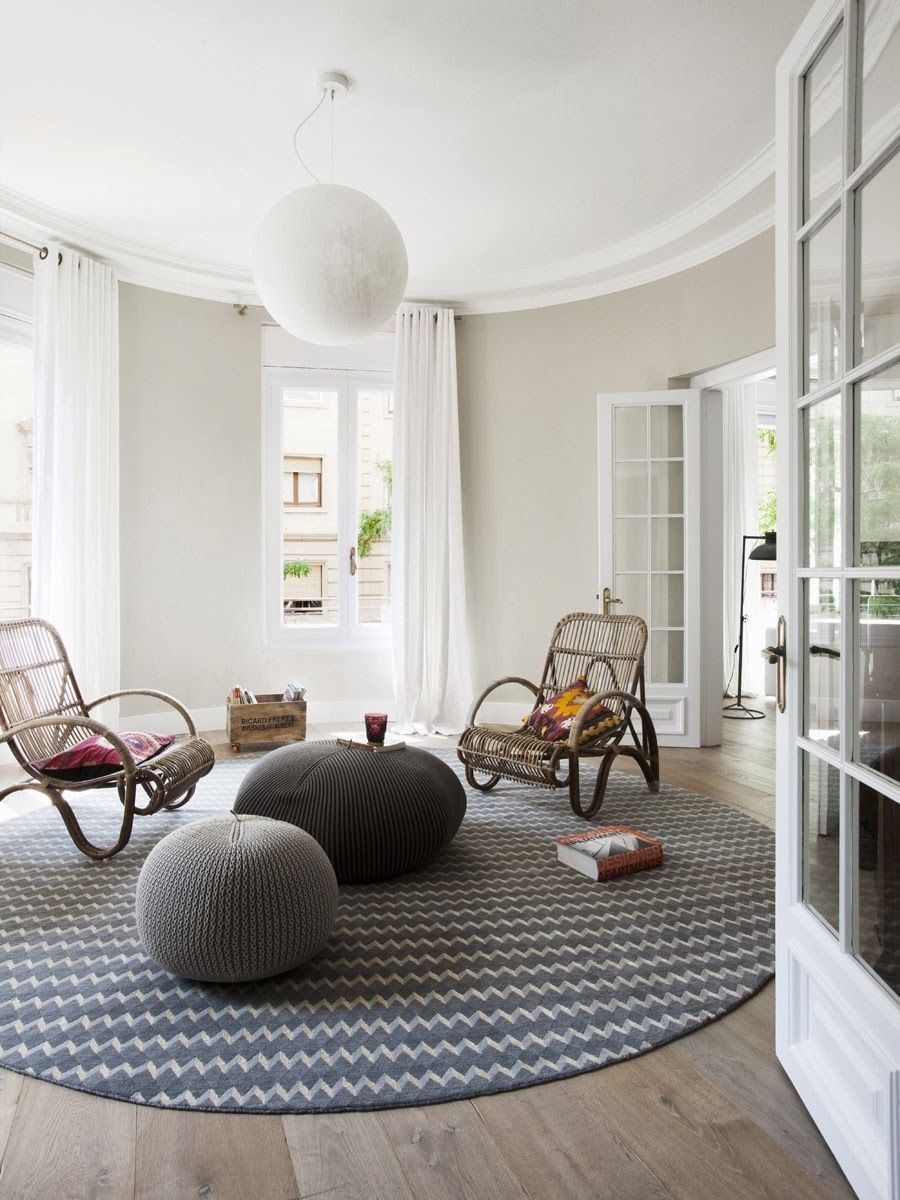 Furniture. Impressive Scandinavian Living Room Furniture With Twin ...