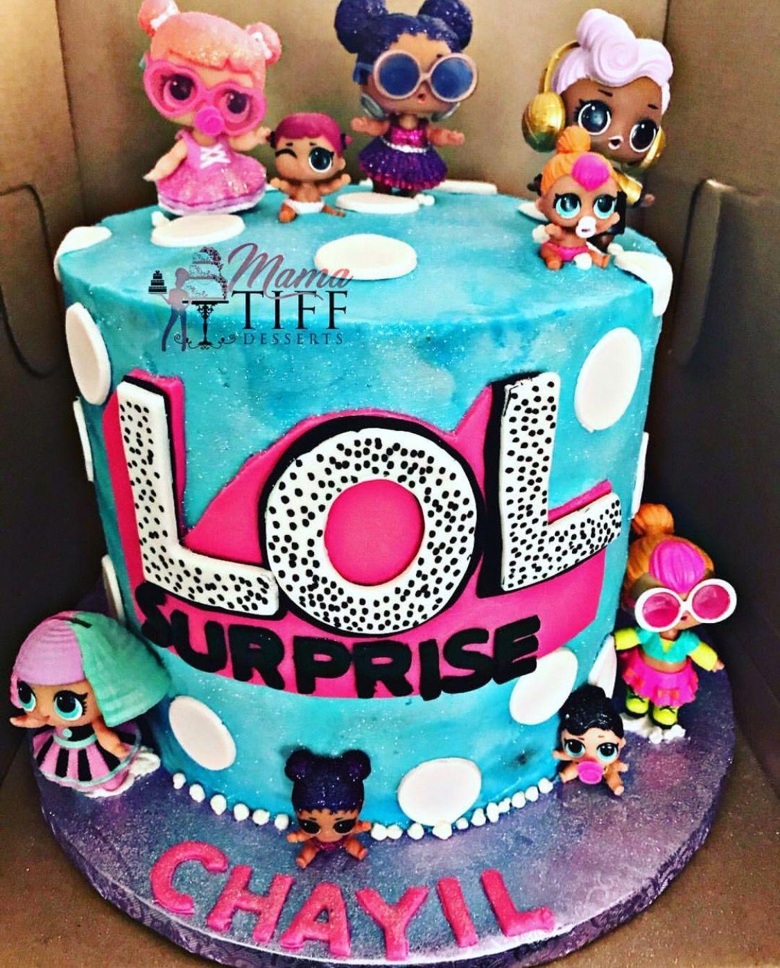 Lol Surprise Birthday Cake Funny Birthday Cakes Surprise