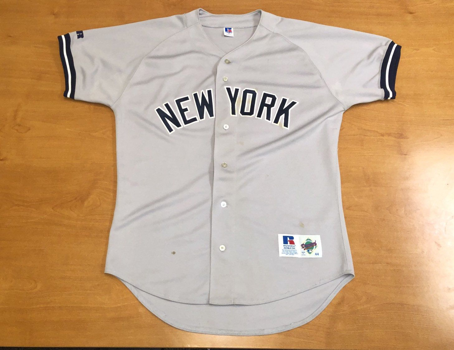 size 40 320d9 b9c8b Vintage 1992 - 1999 New York Yankees Russell Authentic ...