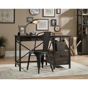 Computer Desk Carbon Oak desk, Furniture, Home office desks