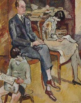 La famille Montéran By Louis Valtat