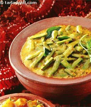 Gavarfali ki subzi rajasthani recipe beans rajasthani gavarfali ki subzi rajasthani rajasthani foodrajasthani recipessubzi forumfinder Image collections