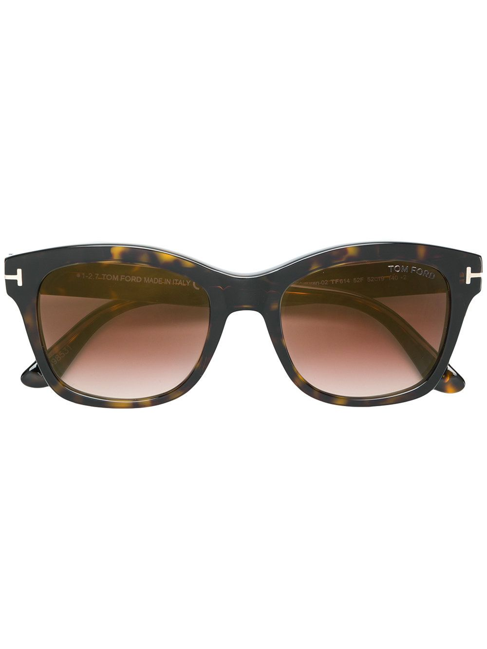 9ae829b71f6 Tom Ford Eyewear Square Sunglasses - Brown