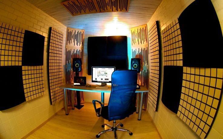 Find This Pin And More On Acoustics Meets Design. Vicoustic Treated Home  Studio Space