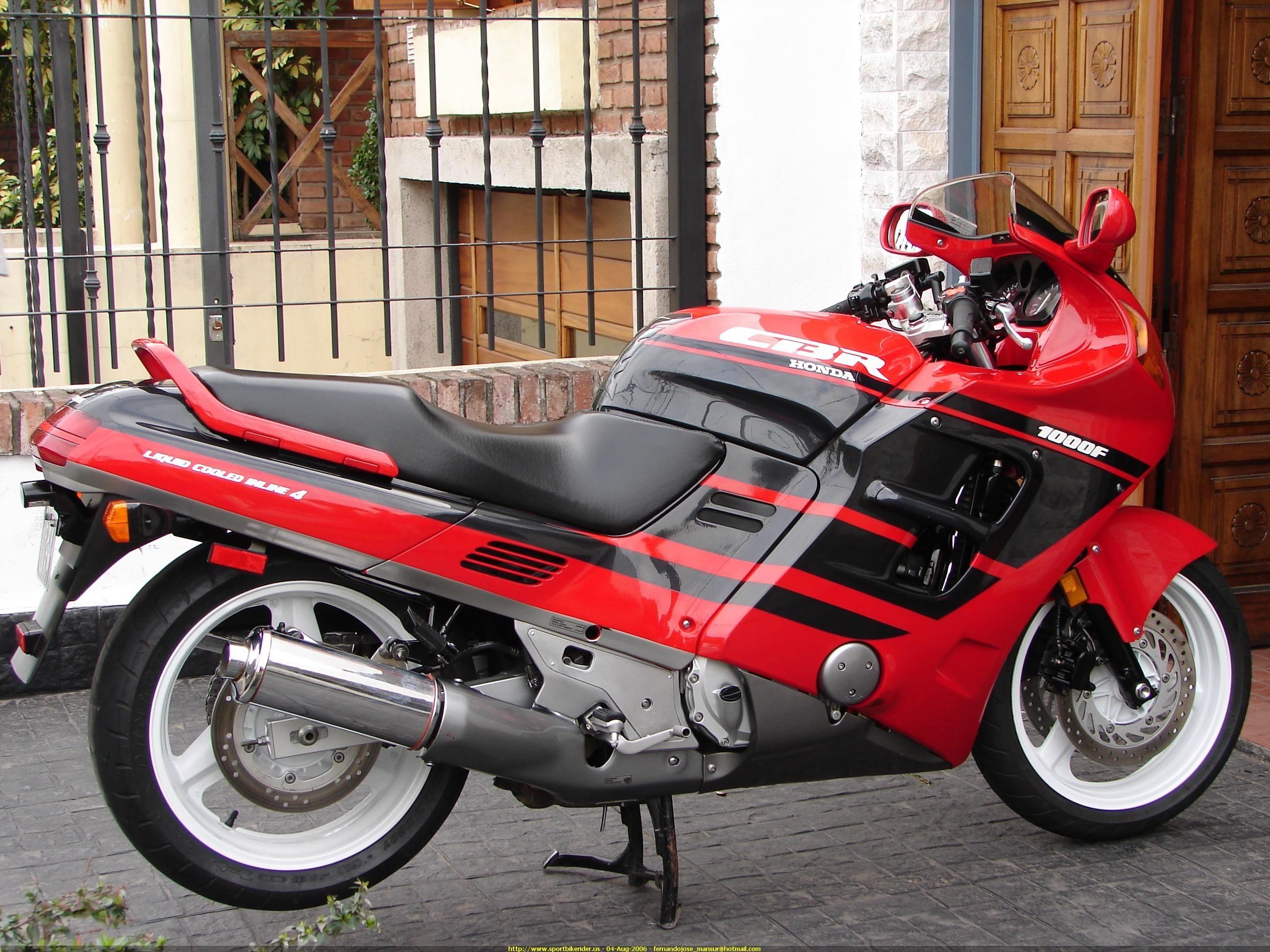 1991 Honda Cbr 1000 F Honda Sport Bikes Honda Bikes Honda Cbr