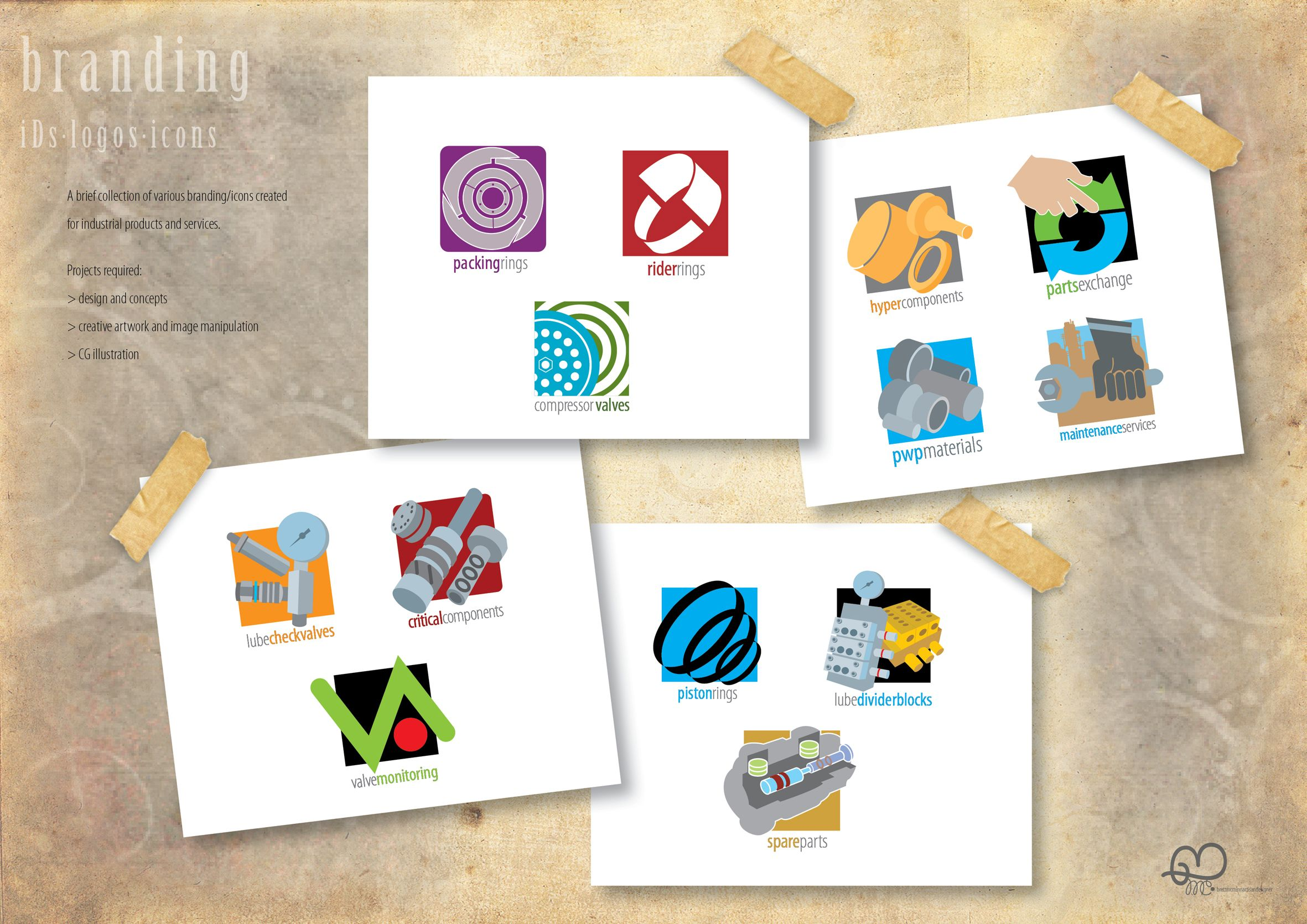 Branding, logos and icons
