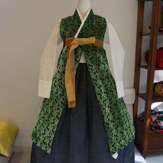 양면 답호  #한복 #바느질풍경 #sewinglandscape #김복희 #hanbok #dress