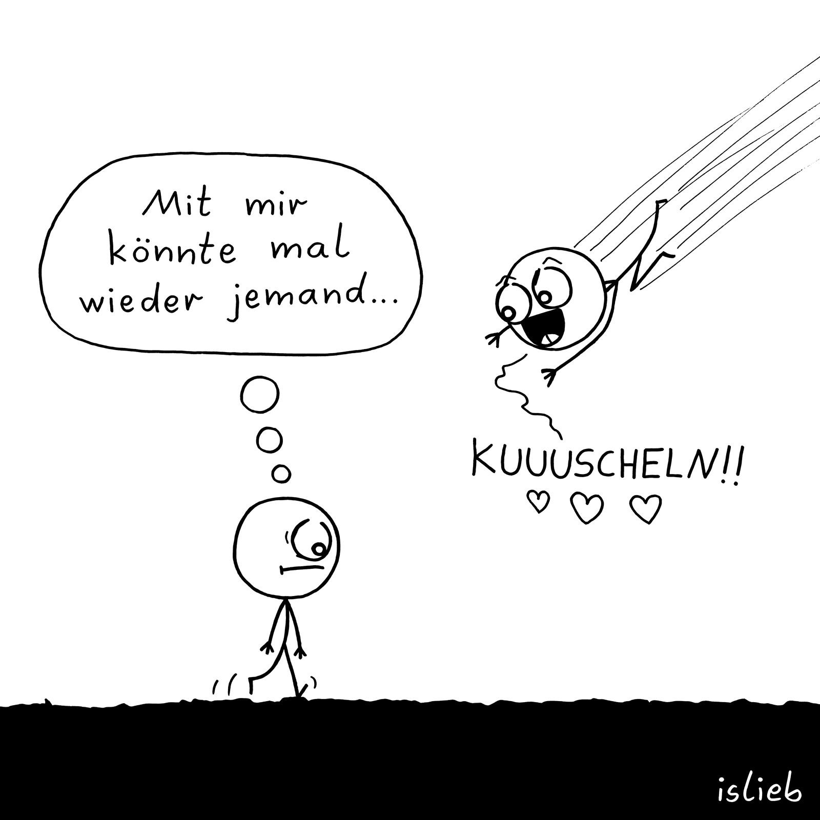 #kuscheln #comics #islieb