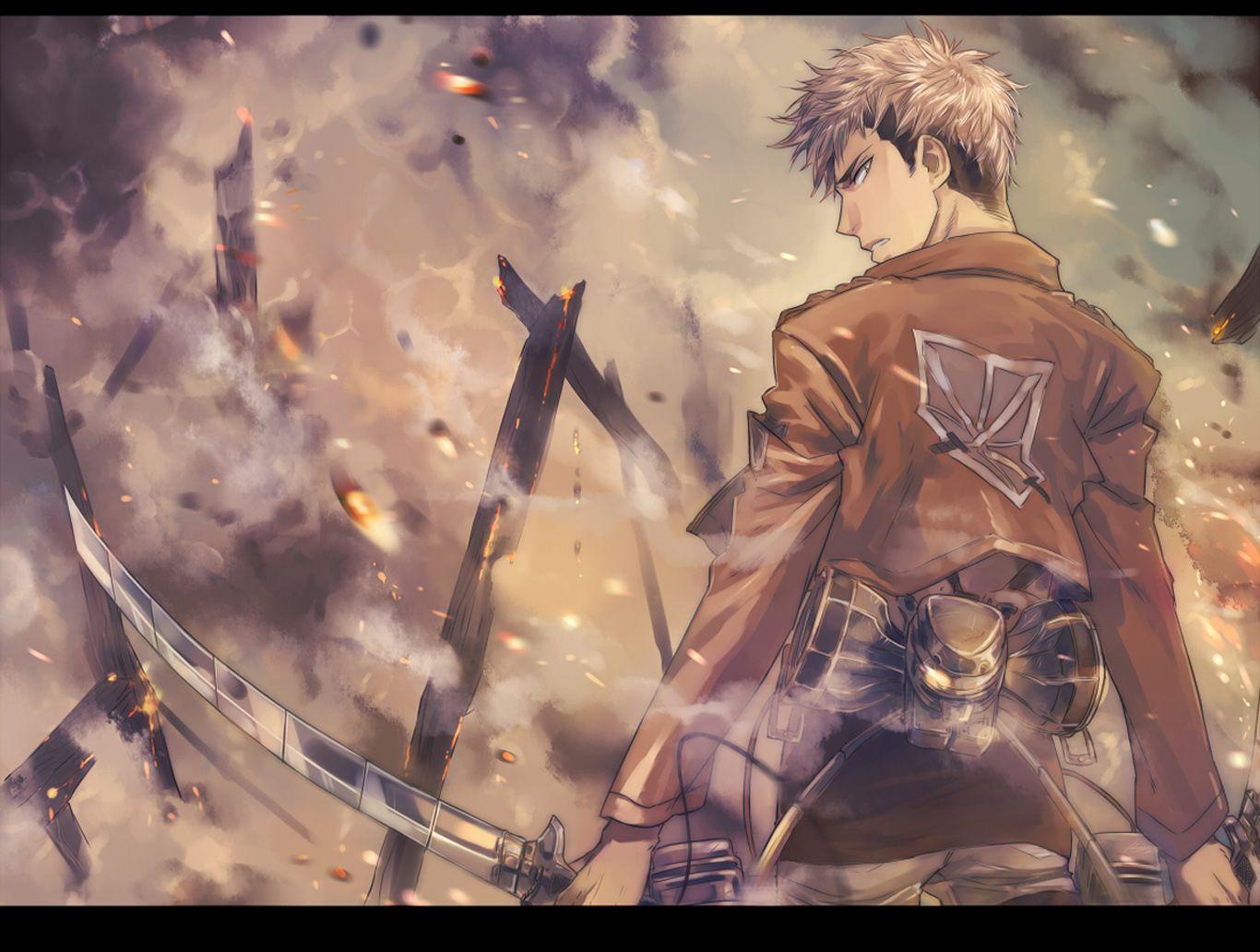 Attack on Titan wallpaper Kirschtein Blade Attack on