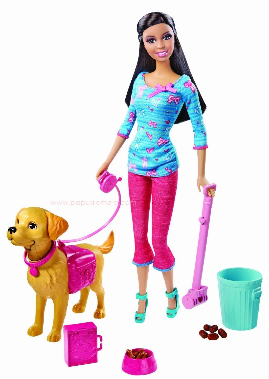 Barbie Potty Trainin' Taffy Doll and Pet Barbie dolls