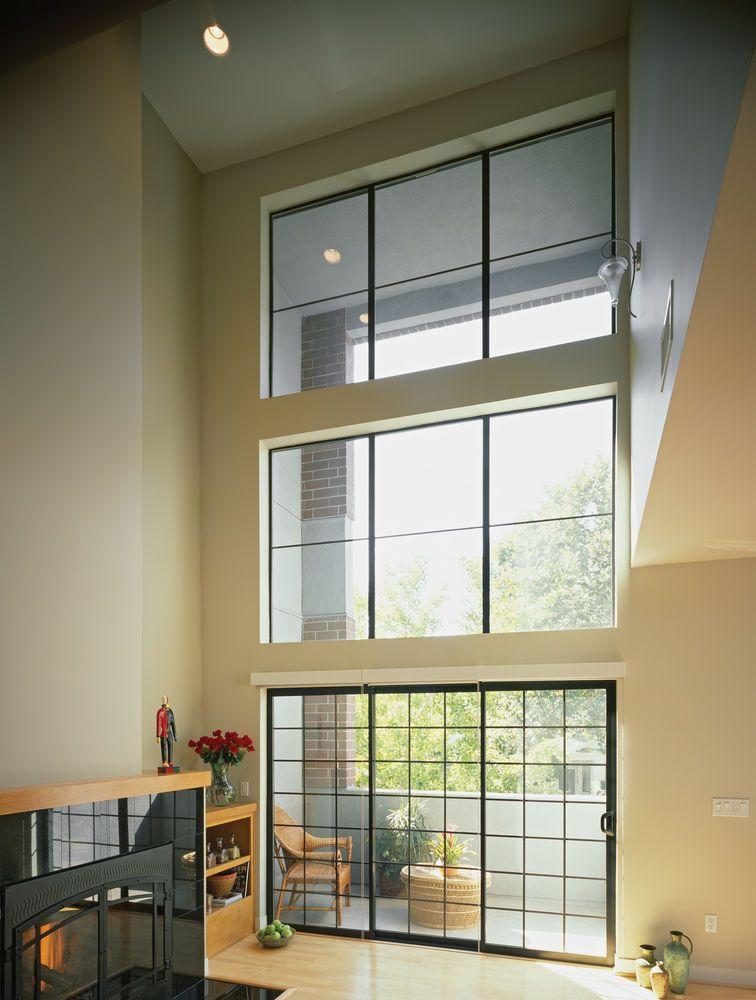 Aluminum Black Clear Story Doors Sliding Modern Windows Contemporary Windows Windows