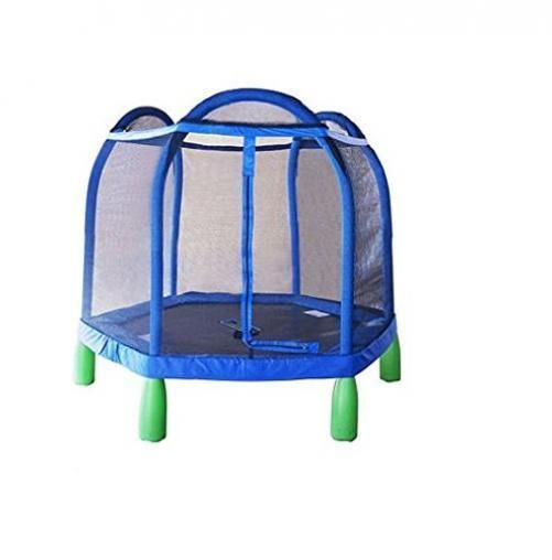 Trampoline Kids Outdoor Indoor Bounce Jump Fun Toddler Play Safety