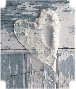 Romantyczny Serce Lace