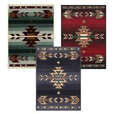 Rustic Southwestern 5x8 Arrows Lodge Style Cabin Area Rug Actual 5 3 X
