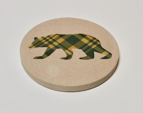 Dapper Bear Coaster