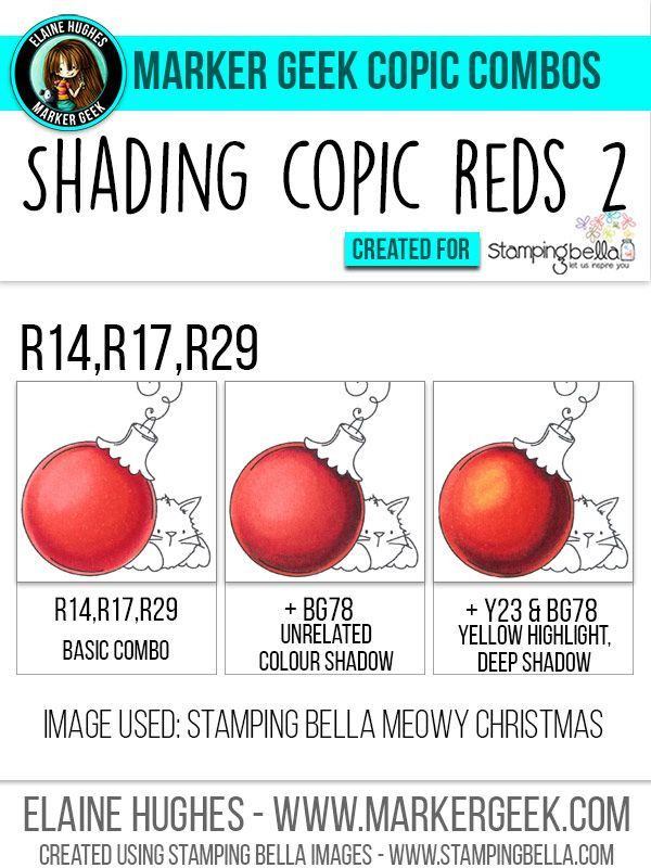Image result for best.copic.combo for xmas red | Copic colouring ...