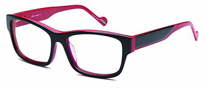 c2f8d3ceef9 Womens Futuristic Two Tone Prescription Eyeglasses Rxable 54-16-140 Review