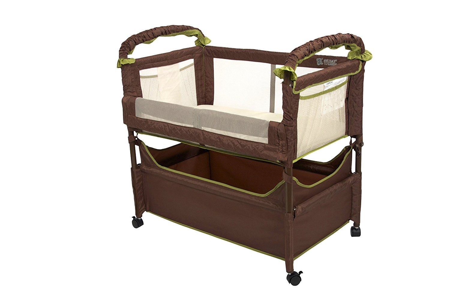 Co Sleeper Attach To Bed - Arm s Reach Concepts Clear-Vue Cocoa Fern     Read more at the image link. (This is an affiliate link)  DayBed c7f2c6a73