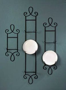 Decorative Accessories Wall Plate \u0026 Counter Racks Holders Stands for Plates Bowls & Decorative Accessories: Wall Plate \u0026 Counter Racks Holders ...