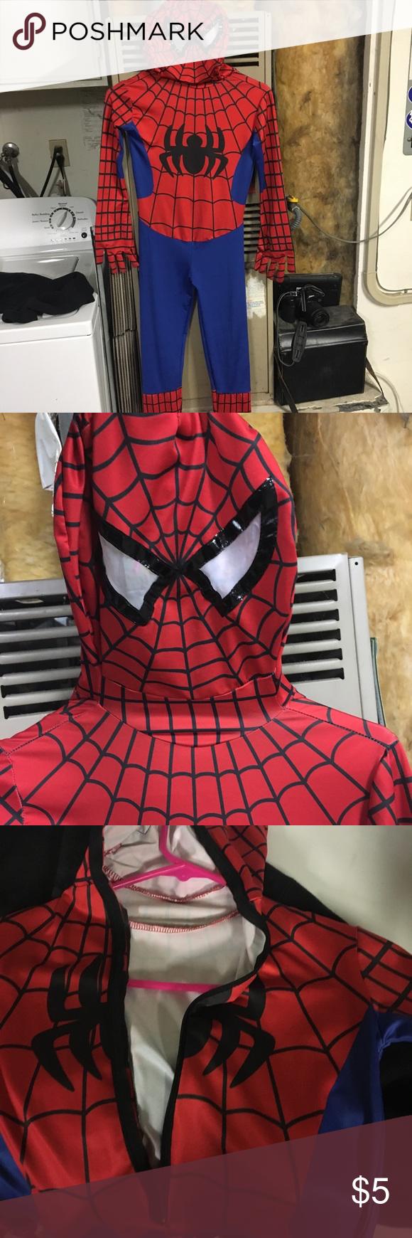 Boys Size 10 Spider Man Suit Spiderman Mens Suits Size 10