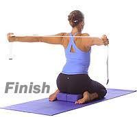 image result for yoga back bend with bricks blocks