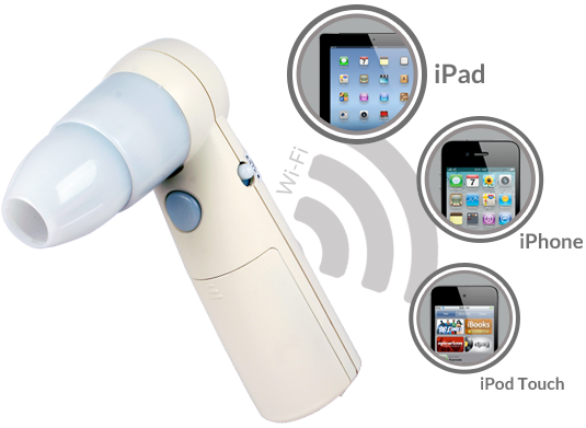 The First Wireless Handheld Digital Microscope For Ipad Iphone