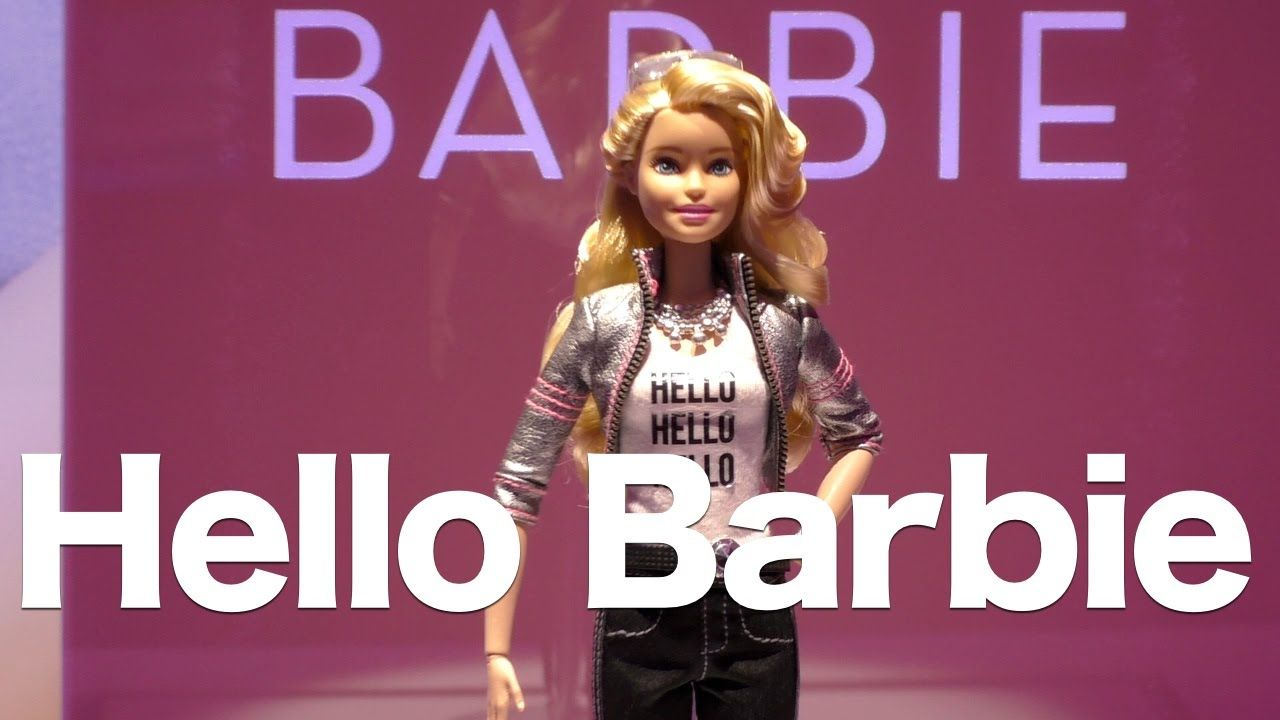 Hello Barbie, Mattel's Wi-Fi Barbie Doll That Chats With Kids