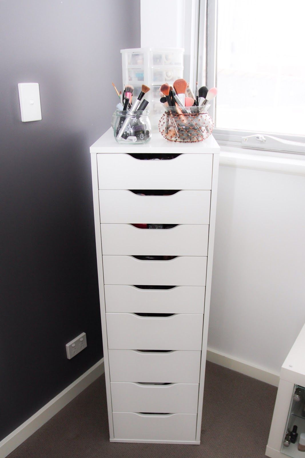 home ikea kennecott drawer organize land dresser to how tall dark
