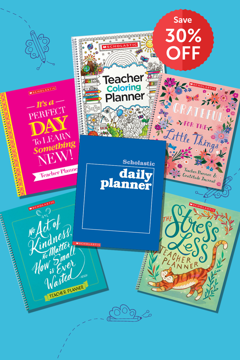 6 Teacher Planners to Inspire Kindness, Gratitude, Creativity, and More