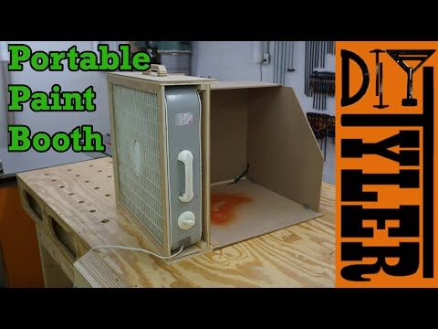 Build A Portable Spray Paint Booth For Your Workshop Model Planes