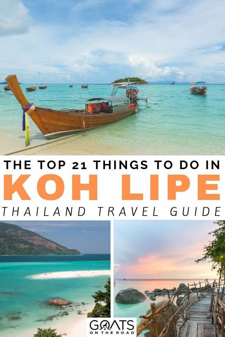 21 Incredible Things To Do In Koh Lipe Thailand for The Ultimate Vacation #vacationdestinations