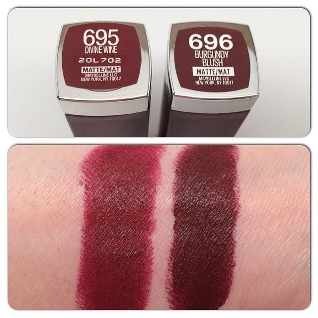 Creamy Mattes Lip Lipstick Color Sensational Maybelline Makeup SMzpqUV