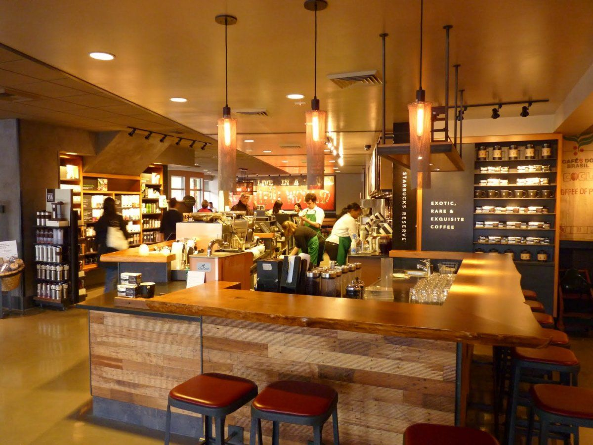 Yellow Shop Best Socially Designed Coffee Shops In Seattle With Wood