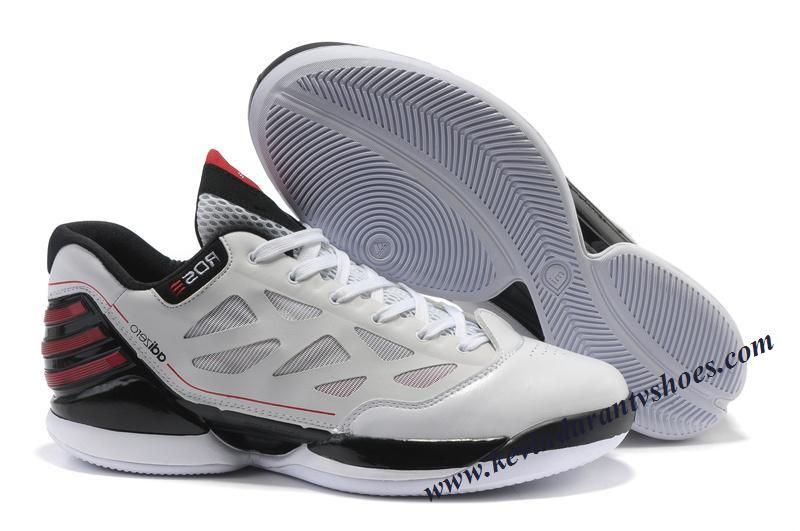 Adidas Adizero Rose 2.0 Derrick Rose Shoes white Black Red
