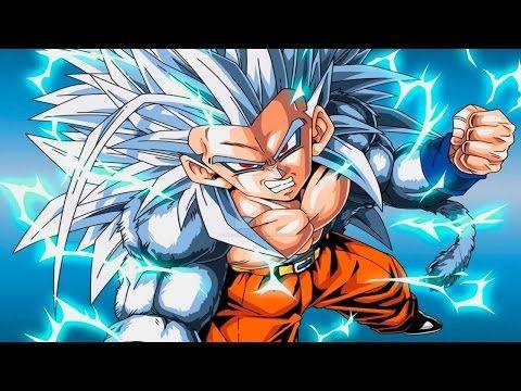 Dragon ball gt super saiyan 4 goku vs super android 17 - San goku super saiyan 5 ...