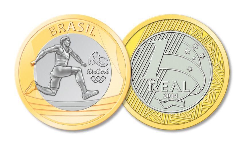Moedas Comemorativas Dos Jogos Olimpicos E Paralimpicos Rio 2016