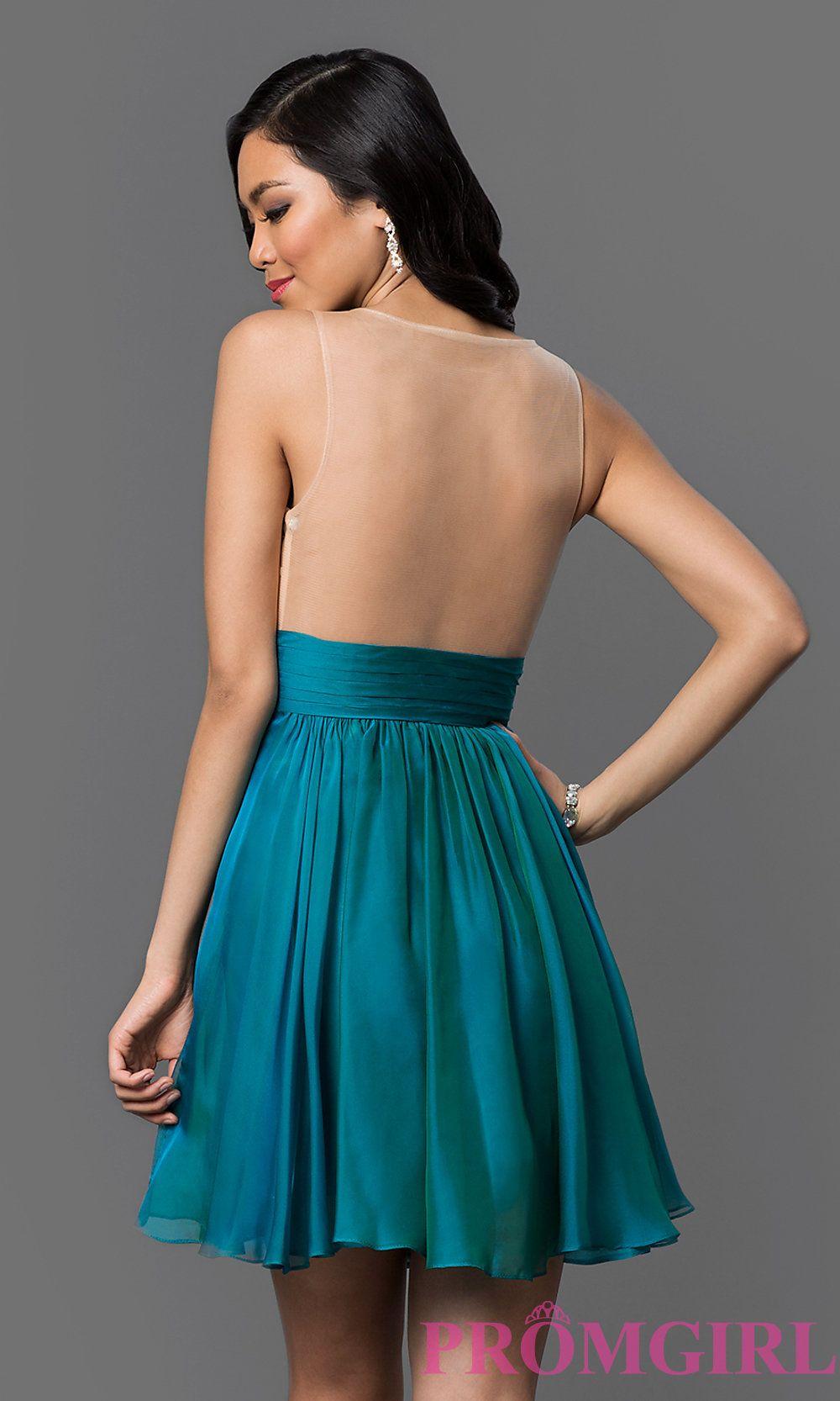 Dress Back Image | My closet (I wish) | Pinterest | Homecoming ...