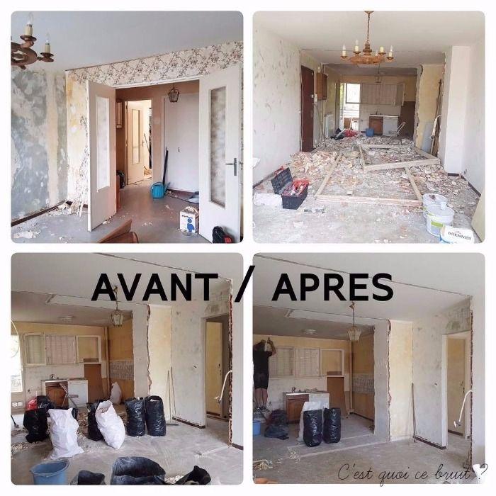Avant Apres Salon Apres Notre Relooking Et Renovation Appartement
