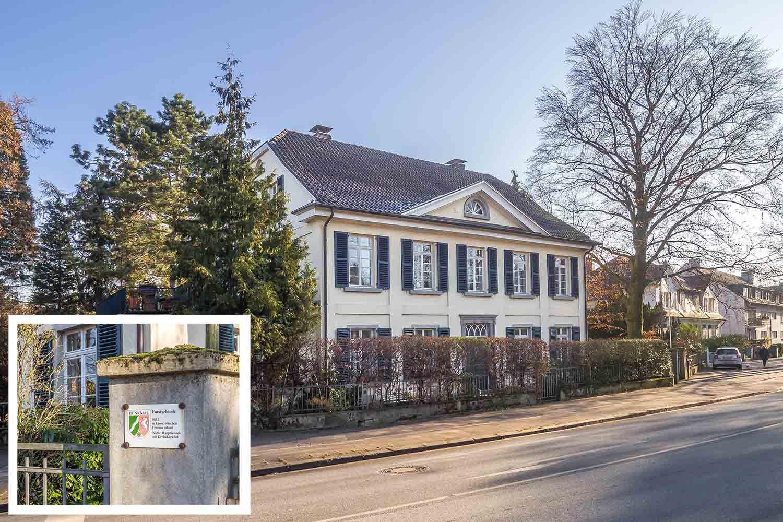 Denkmalgeschutztes Haus In Dusseldorf Benrath Urdenbacher Allee