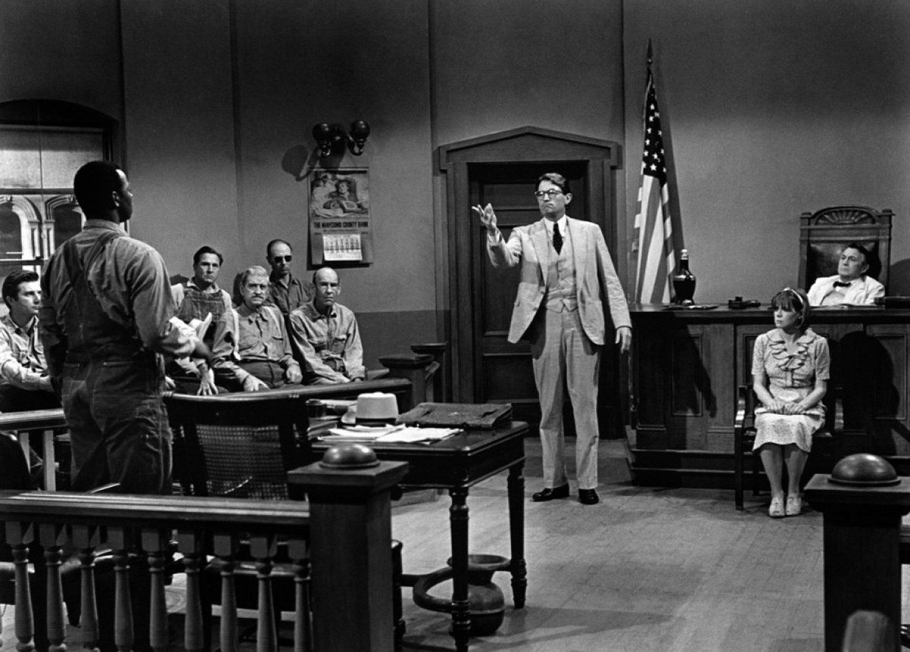 To kill a mockingbird atticus in court - photo#38