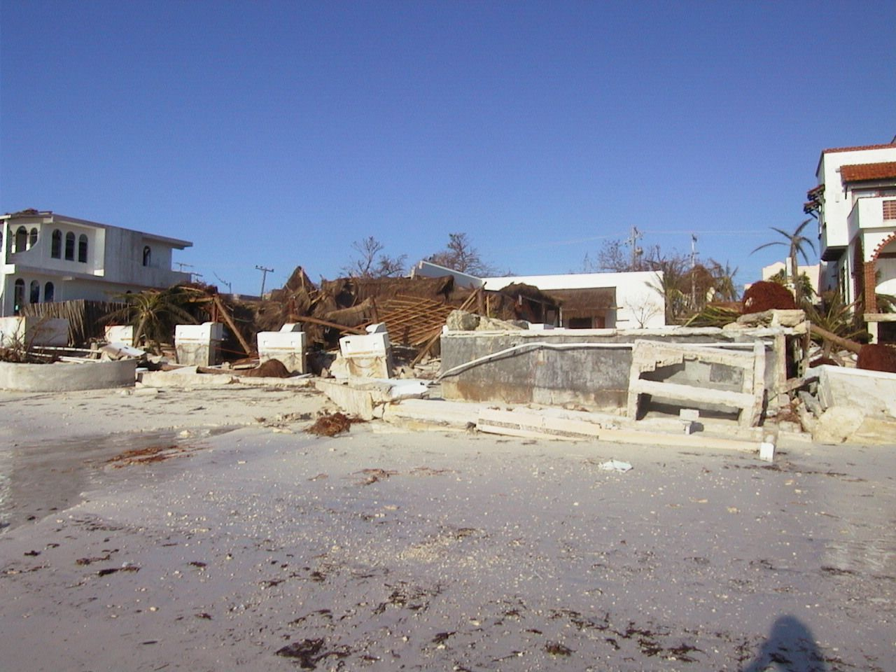 2005 Hurricane Wilma Hurricane Wilma Puerto Morelos Riviera Maya