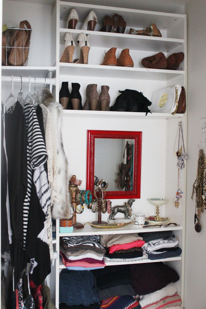 Billy Bookcase Closet Organizer Part - 23: Cheat Your Way To A Custom Closet. One Simple, Affordable Built In Storage  Trick