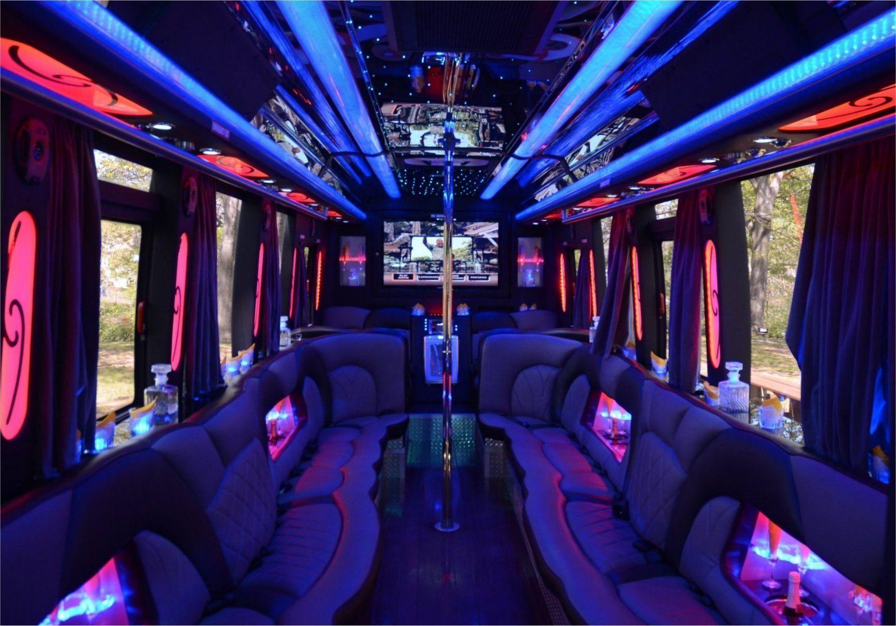 Nj Party Bus Rental Party Bus Rental Limo Party Bus Interior