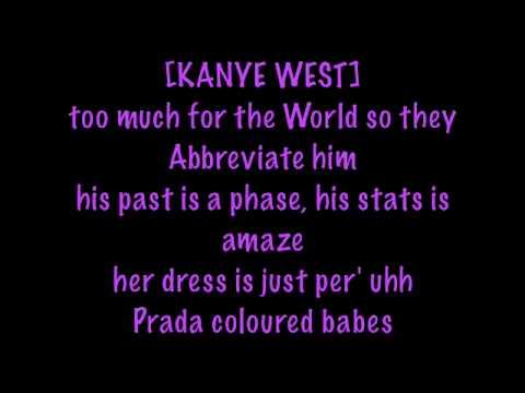 1 Nicki Minaj Blazin Ft Kanye West With Lyrics Pink Friday Youtube Kanye Pink Friday Nicki Minaj