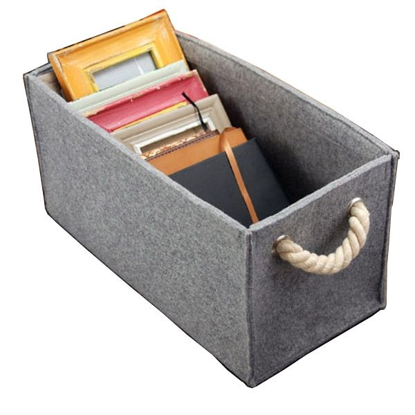 Customized Wool Felt Big Bin Storage Box, Direct Supplier From China, Material:ECO Felt,Features:1)Customized Color And Size,2)OEM/ODM Available  ...